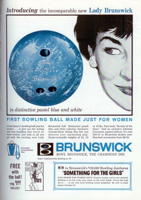 Lady Brunswick Bowling Ball (1959)