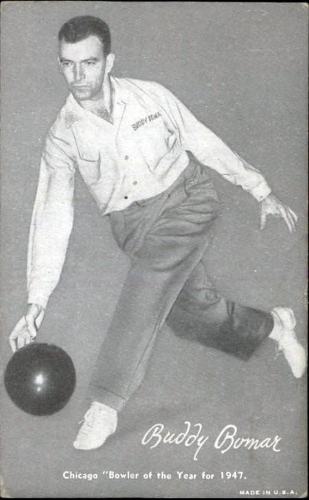Buddy Bomar Trading Card (1947)