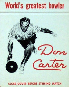 Carter matchbook