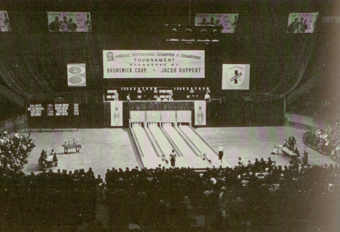 Bowling in Madison Square Garden (1962) | Dr. Jake\'s Bowling History ...