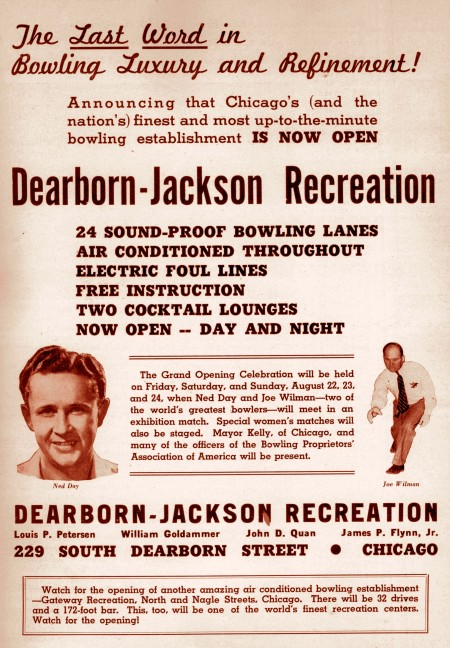 Dearborn-Jackson Recreation Ad (1941)