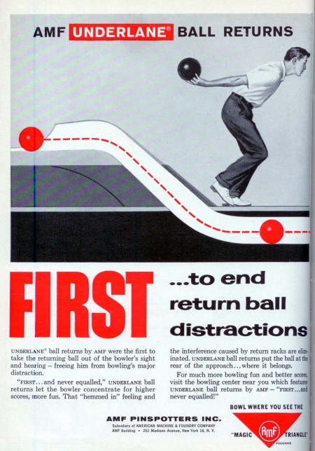 AMF Underlane Ball Return (1958)