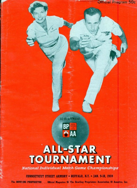 1958-59 All-Star Tournament Program