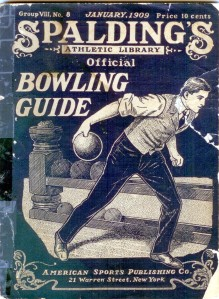 Spalding's Official Bowling Guide, 1909