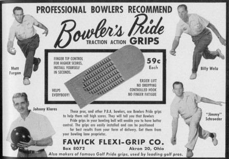 Bowler's Pride Grips (1958)