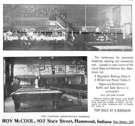 Bowling Alley For Sale (1917)