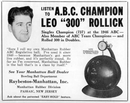 Rollick for Manhattan (1946)
