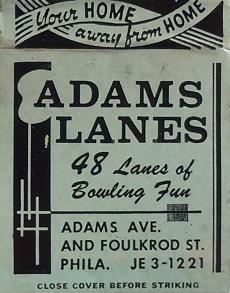101--Adams Lanes