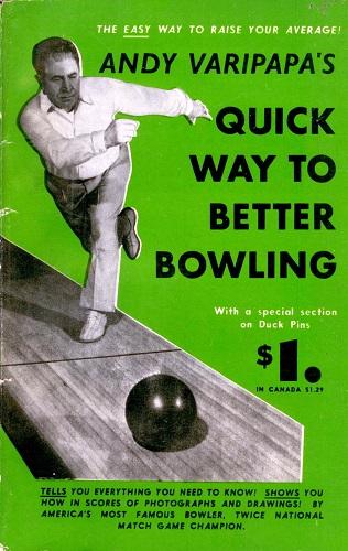 Varipapa Bowling Book (1952)