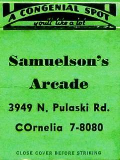 120--Samuelson's Arcade