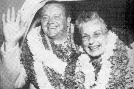 Junie and his wife Helen