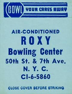 Roxy Bowling Center