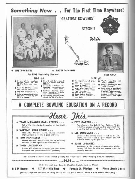Stroh's ad
