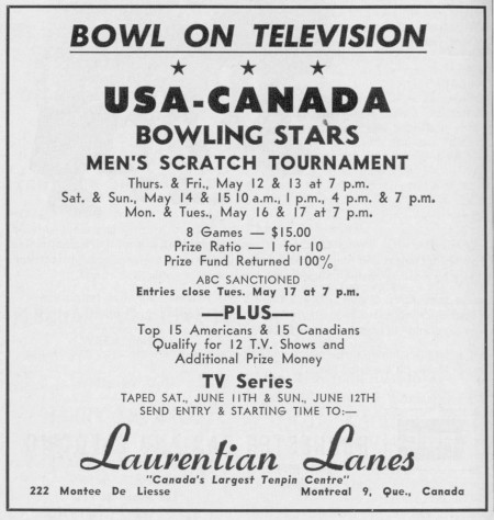 Bowl on TV Tournament (1966)