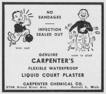 Carpenter's Court Plaster
