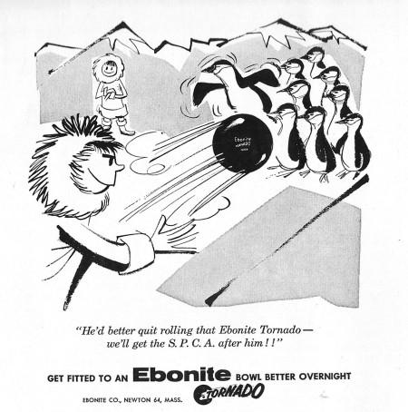 Ebonite Bowling Balls (1958)