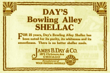 Day's Bowling Alley Shellac (1928)