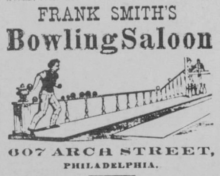 Frank Smith's Bowling Saloon (1879)