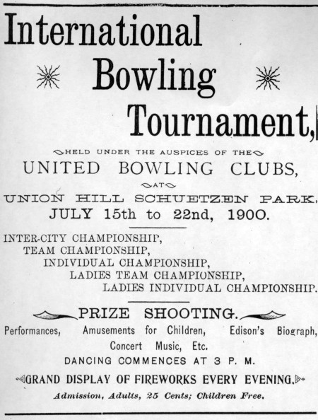 International Bowling Tournament (1900)