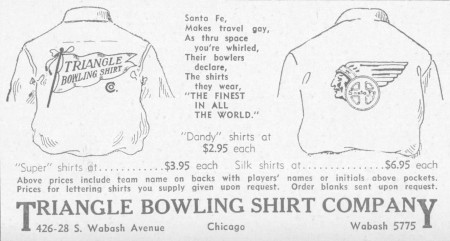 Triangle Bowling Shirts (1935)