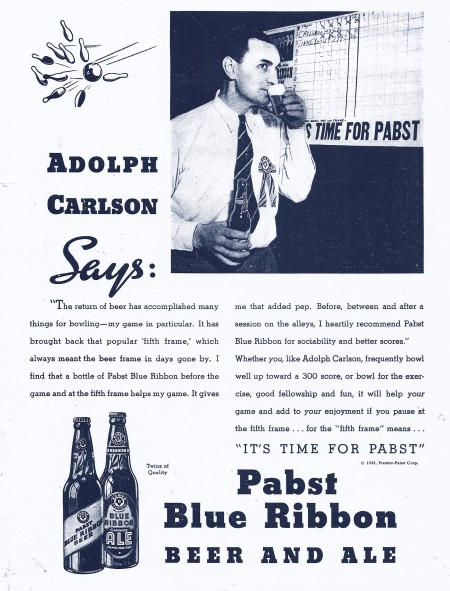 Carlson for Pabst (1934)