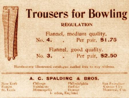 Bowling Trousers