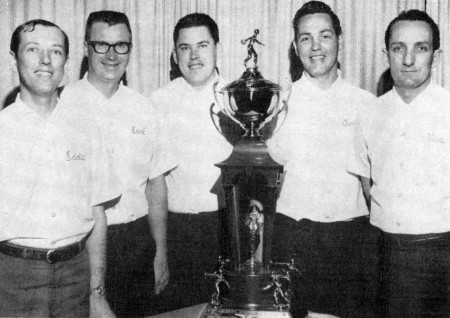(L-R)--Ed Hansen, Earl Anthony, Jim Todd, Terry Rea, Mac Lowry