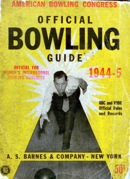 Official Bowling Guide, 1944-45