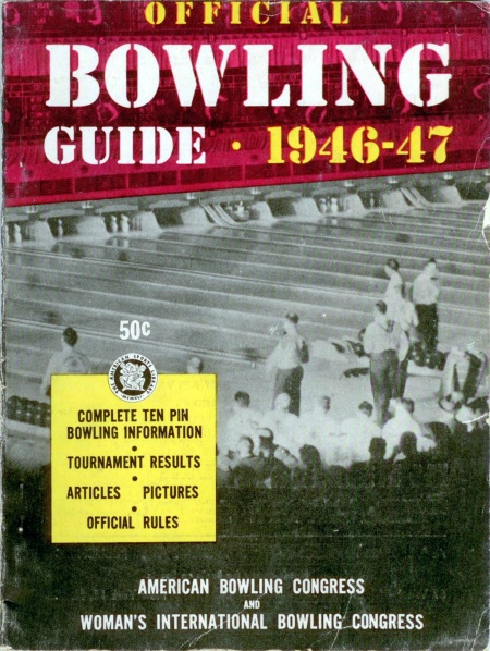 Official Bowling Guide, 1946-47