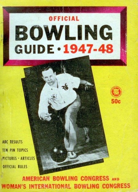 Official Bowling Guide, 1947-48