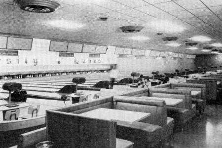 University Lanes--Toledo (1957)