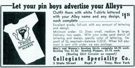 Pinboy Shirts (1950)
